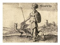 The Greek Gods Minerva Art
