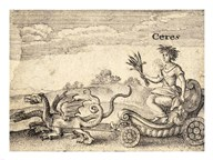 The Greek God Ceres Art