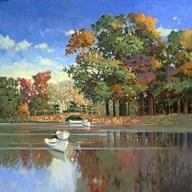 Early Autumn in the Loire  Fine Art Print