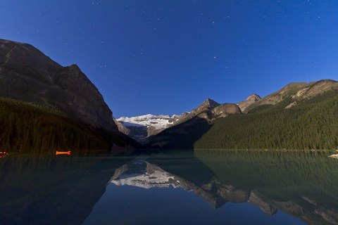 Framed Lake Louise, Banff National Park, Alberta, Canada Print