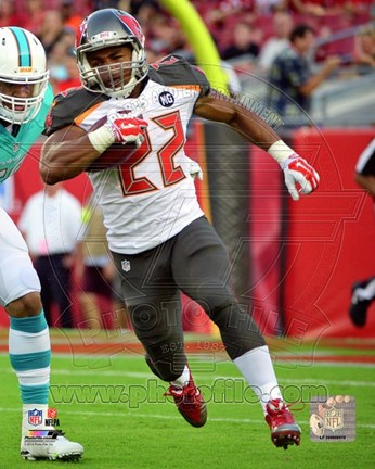 Framed Doug Martin 2014 Action Print