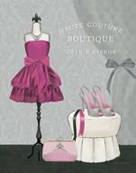 Dress Fitting Boutique II  Fine Art Print