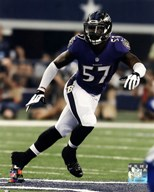 C.J. Mosley 2014 Action  Fine Art Print