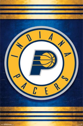 Framed Indiana Pacers - Logo 14 Print
