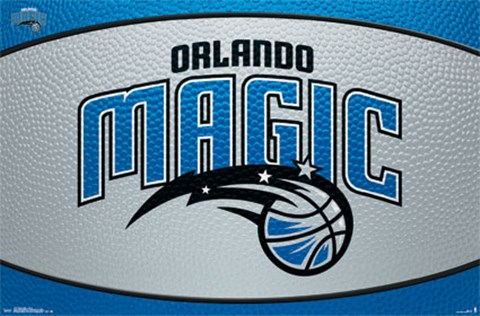 Framed Orlando Magic - Logo 14 Print