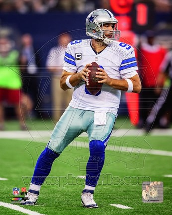 Framed Tony Romo 2014 Football Print