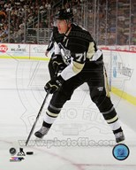 Evgeni Malkin 2014-15 with the puck  Fine Art Print