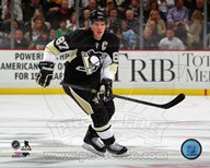 Sidney Crosby 2014-15 on ice  Fine Art Print