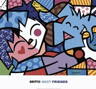 Best Friends  Fine Art Print