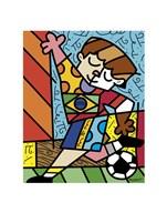 I Love Soccer  Fine Art Print