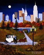 Autumn In New York  Fine Art Print