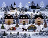 Holiday Sleigh Ride  Fine Art Print