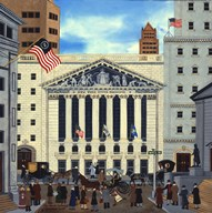 The Stock Exchange  Fine Art Print