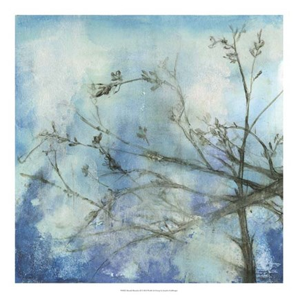 Framed Moonlit Branches II Print