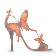 Butterfly Shoe Swirl  Fine Art Print