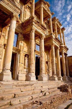 Framed Library of Celsus in ancient Ephesus, Turkey Print
