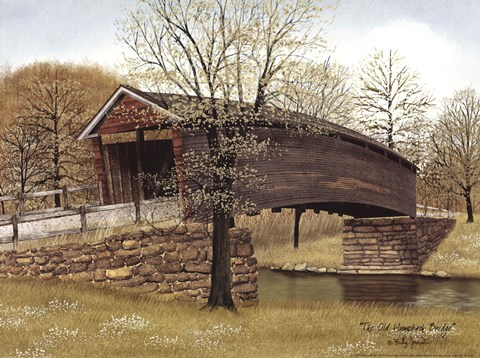 The Old Humpback Bridge Fine Art Print By Billy Jacobs At