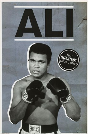 Framed Ali - Greatest of All Time Print