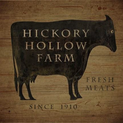 Hickory Hollow Farm Fine Art Print By Beth Albert At