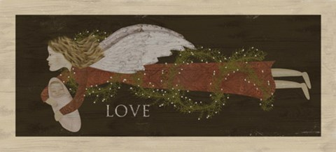 Framed Angel Love Print