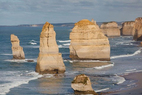 Framed Coastline, 12 Apostles, Great Ocean Road, Port Campbell NP, Victoria, Australia Print