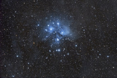 Framed Pleiades (Seven Sisters) Print
