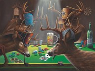 Playing for Doe  Fine Art Print