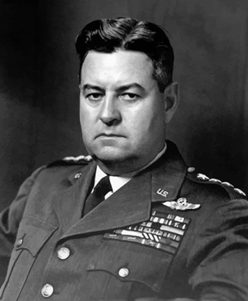 Framed General Curtis Lemay (close up) Print