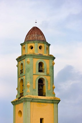 Framed San Francisco de Asis, Convent, Church, Trinidad, UNESCO World Heritage site, Cuba Print