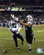 Eric Decker 2014 Action  Fine Art Print