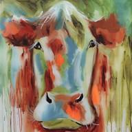 Misty Pasture  Fine Art Print