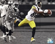 Antonio Brown 2014 Spotlight Action  Fine Art Print