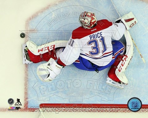 Framed Carey Price 2014-15 goalie Print