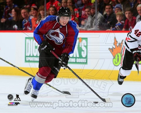 Framed Matt Duchene 2014-15 Action Print