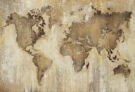 Map of the World  Fine Art Print