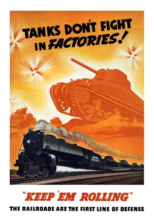 Framed Tanks Don't fight in Factories! Print