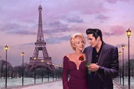 Paris Sunset  Fine Art Print
