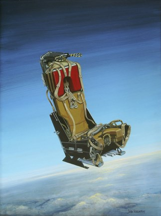 Framed Acrylic Painting of the Martin Baker Ejection Seat Print