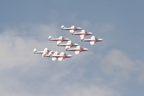 Framed Snowbirds 431 Air Demonstration Squadron of the Royal Canadian Air Force Print