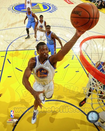 Framed Harrison Barnes 2014-15 Action Print