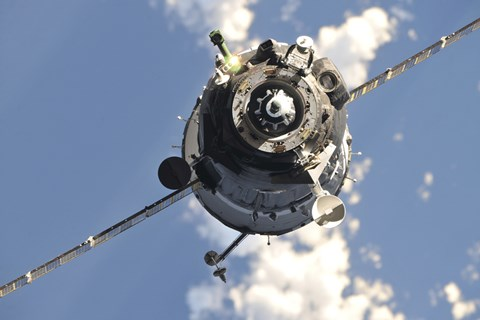 Framed Soyuz TMA-20 Spacecraft Print