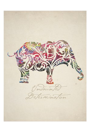 Framed Elephant Set 01 Print