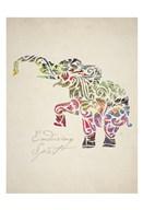 Elephant Set 02  Fine Art Print