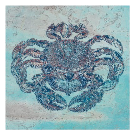 Framed Saltwater Crab Print