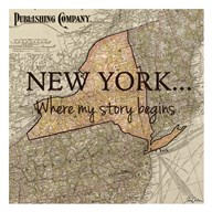 New York My Story  Fine Art Print