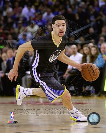 Framed Klay Thompson 2014-15 Action Print