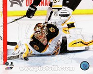 Tuukka Rask Hockey Goal Save  Fine Art Print