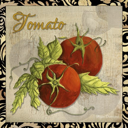 Framed Vegetables 1 Tomatoes Print
