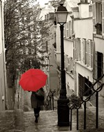 Paris Stroll II  Fine Art Print