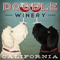 Doodle Wine  Fine Art Print